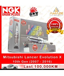 NGK Laser Iridium Spark Plug for Mitsubishi Lancer Evolution X 2.0 Turbo (10th Generation)