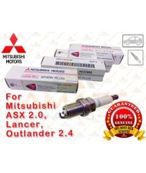 Genuine Mitsubishi Laser Iridium Spark Plug for Mitsubishi ASX 2.0, Lancer & Outlander 2.4 (NGK FR6EI)