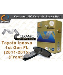 Compact MC Ceramic Brake Pad for Toyota Innova 1st Gen Facelift (2011-2015) (Front)