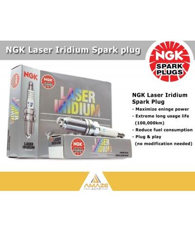NGK Laser Iridium for Mitsubishi Lancer 2.0 & 2.4 8th gen (2007-2017)