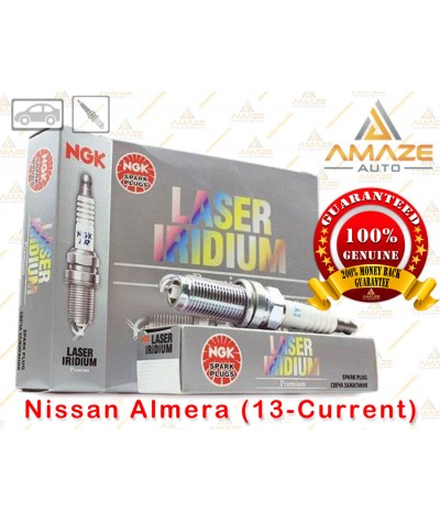 NGK Laser Iridium Spark Plug for Nissan Almera (13-Current)