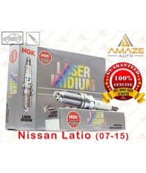 NGK Laser Iridium Spark Plug for Nissan Latio 1.6 & 1.8