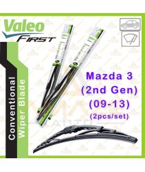 Valeo First Wiper Blade for Mazda 3 (2nd Gen) (09-13) (2pcs/set)
