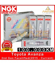 NGK Laser Iridium Spark Plug for Toyota Avanza (2nd Gen Facelifted) (2015-Current) - Long Life Spark Plug 100,000KM