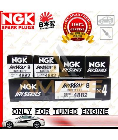 NGK IRIWAY Spark Plug for Tuned Engine - Semi Racing Spark Plug