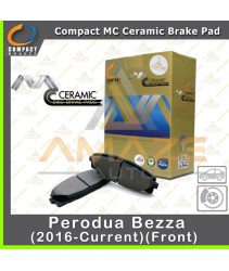 Compact MC Ceramic Brake Pad for Perodua Bezza (2016-Current) (Front)