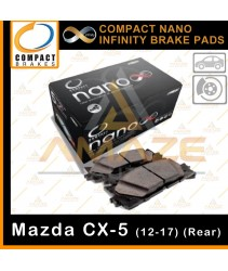 Compact Nano Infinity Brake Pad for Mazda CX-5 (12-17)(Rear)