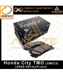 Compact Nano Infinity Brake Pad for Honda City TMO / GM2 & GM3 (2009-2014) (Front)