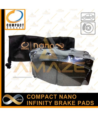 Compact Nano Infinity Brake Pad for Toyota Fortuner 1st gen (12-15)(Front)