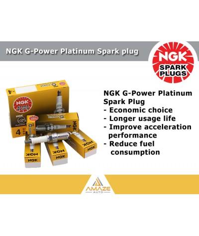 NGK G-Power Platinum Spark Plug for Mitsubishi Lancer 1.6 (03-06)