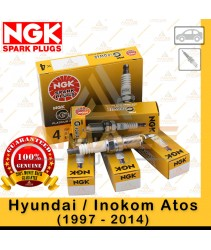 NGK G-Power Platinum Spark Plug for Hyundai / Inokom Atos (1997 - 2014)