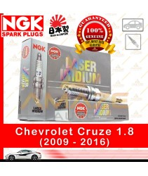 NGK Laser Iridium Spark Plug for Chevrolet Cruze (2009-2016)