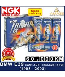 NGK Iridium IX Spark Plug for BMW 5 Series E39 (520i, 523i, 525i, 528i & 530i) - 60,000 KM High Performance