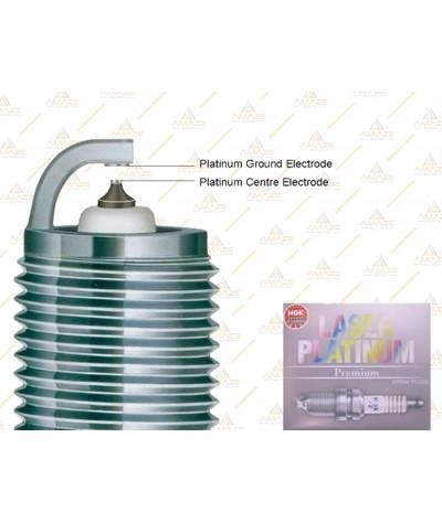 NGK Laser Platinum Spark Plug for BMW 3 Series E46 1.6-2.0 (316i, 318i & 320i)