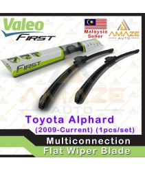 Valeo First Multiconnection Flat Wiper blade for Toyota Alphard (2009 - Current) (2pcs/set)