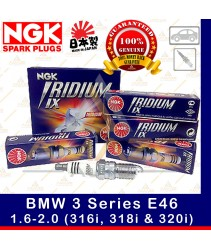 NGK Iridium IX Spark Plug for BMW 3 Series E46 1.6-2.0 (316i, 318i & 320i)