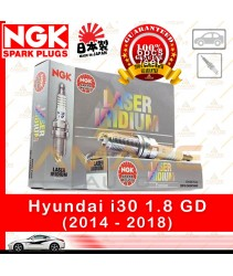 NGK Laser Iridium Spark Plug for Hyundai i30 GD 1.8 (2014 - 2018)