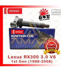 Denso Ignition Coil for Lexus RX300 3.0 V6 1st & 2nd gen (98-08) Made in Japan