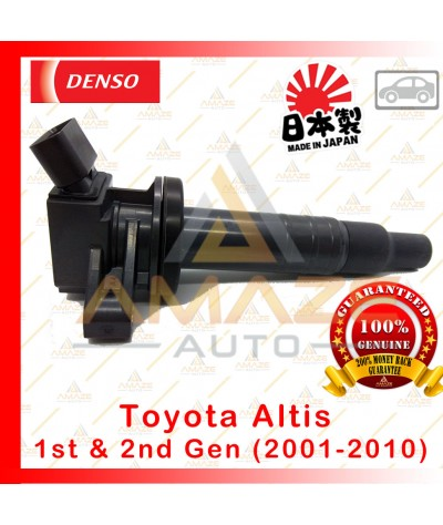 Denso Ignition Coil for Toyota Altis 1st & 2nd gen Non-Facelift (01-10) Made in Japan