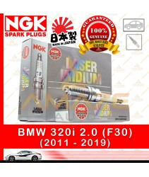 NGK Laser Iridium Spark Plug for BMW 320i (F30) (2011 - 2019)