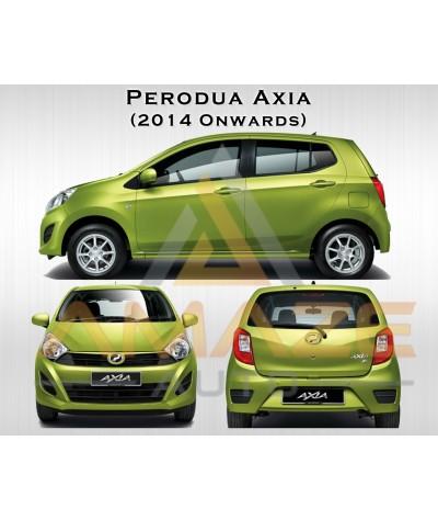 Valeo First Hybrid Wiper blade for Perodua Axia (2014 Onwards) (2pcs/set)