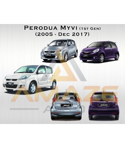 Valeo First Hybrid Wiper blade for Perodua Myvi (2005-2017) (2pcs/set)