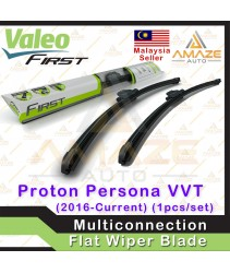 Valeo First Multiconnection Flat Wiper blade for Proton Persona 2nd Gen (2016 Onwards) (2pcs/set)